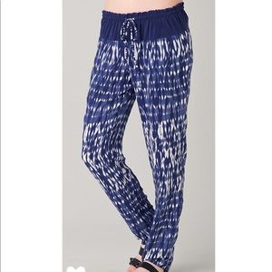 $390 Thakoon Addition Tie Dye Silk Pants Pajama